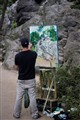 Painter in Central Park