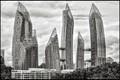 Singapore Apartment Blocks