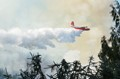 The Martin Mars Water Bomber, an old war plane converted to skim on a body of water to pick up water to dump on forest fires. Based here in BC on Vancouver Island it works worldwide yet not here in Canada anymore.