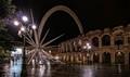 Rainy Night Verona