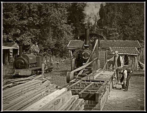 Carpenter - start of the process in the steam era