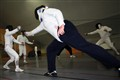 Fencing training