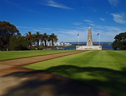 The War Memorial in Perth, Australia