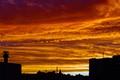 Paris November sky