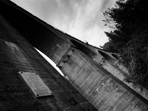 Rail bridge - Wisła Głębce