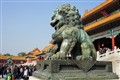 Father Lion, his paw on the world.......Beijing