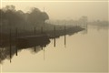 Fog above the River Weser
