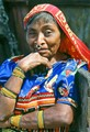 Portrait of a Cuna Indian woman.