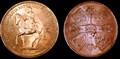 Queens coronation coin 1953