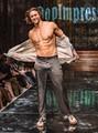 Model Dave Williams for Designer Olga Papkovitch at NYFW by Tony Filson