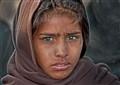Indian Farm Girl near Jaipur - Rajasthan State - India
