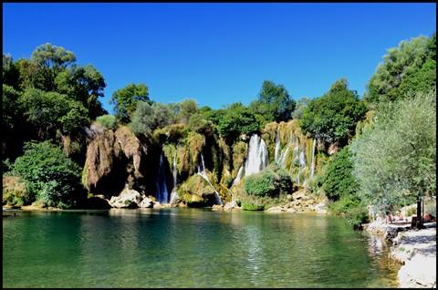 Chorwacja 2011 - 2011-08-11 10-08-01 - Wodospady Kravice