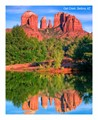 oak creek sedona reflection
