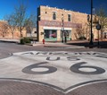 In Winslow, Arizona: dedicated to an Eagles classic song.