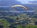 Hang Glide over Cowichan