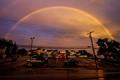 Rainbow Over the Pizza Shop