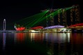 Marina Bay Sands Hotel & Resort Laser Light Show - Singapore