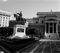 Theodoros Kolokotronis.Inspirator of the Greek revolution  back to 1821.Location Athens - Greece.