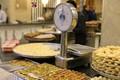 Shop of sweets in Sidon / Lebanon