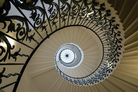 The Tulip Staircase, Queen's House, Greenwich