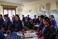 School children from Bhutan