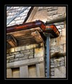 Rusted gutter