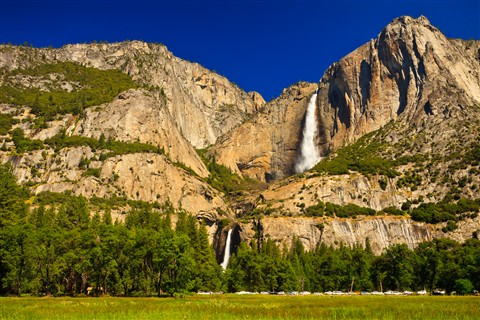 Summer Yosemite Falls