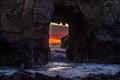 Arch Rock at Pfeiffer Beach, Big Sur