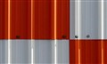 Orange & White Corregated