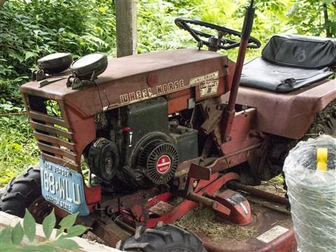 tractor war horse
