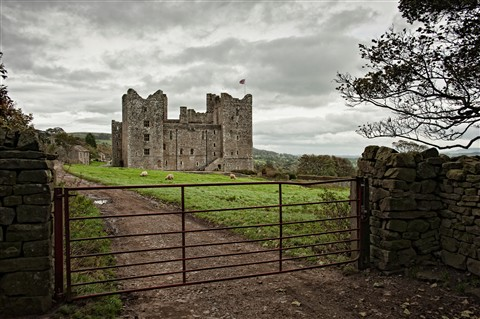Bolton Castle and village