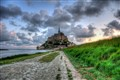 Small Road to Mont Saint Michel