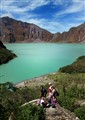 Pinatubo Volcano Crater