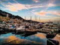 boats by the harbour, Monaco