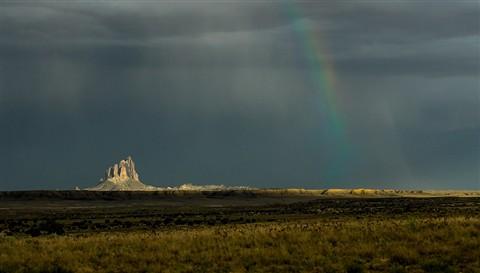 shiprock-rainbow