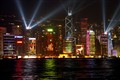 Hong Kong by Night---The Victoria Habour