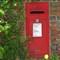 Post box Elham village Kent april 2011_filtered