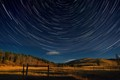 Waiparous star trails