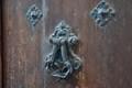 Door knocker in Madrid