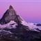 Moonset - Matterhorn