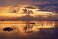 Fishermen ushering in the sunrise in Bali