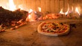Neapolitan Pizza - made by me - in a wood-burning pizza oven in Sorrento, Italy. I spent a week at a wonderful farm in Sorrento where they had this pizza oven.  Sorrento is in Campania, not far from Naples, the original home of pizza.  It was delicious.