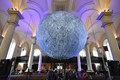Moon exhibition Derby Cathedral