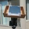 Used proper solar film: I used a simple cardboard box and taped solar film reflective side facing sun. I used an intervolometer and shot a frame every 6 seconds for about an hour and fifteen minuets. No damage to camera or film.