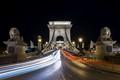 The Széchenyi Chain Bridge, Budapest