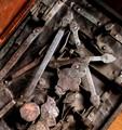 Medieval Lock Mechanism.