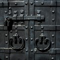 Locked and closed