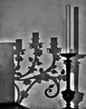 Candelabro in Ombre