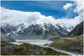 Glacier Lake near mount Cook