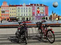 bicycle trio in Wroclaw